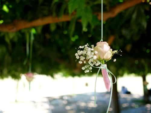 mariage decoration fleurs 11 500x375 - Un mariage dans le vaucluse