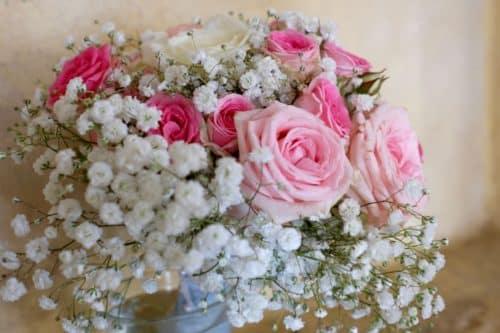 mariage decoration fleurs 16 500x333 - Un mariage dans le vaucluse