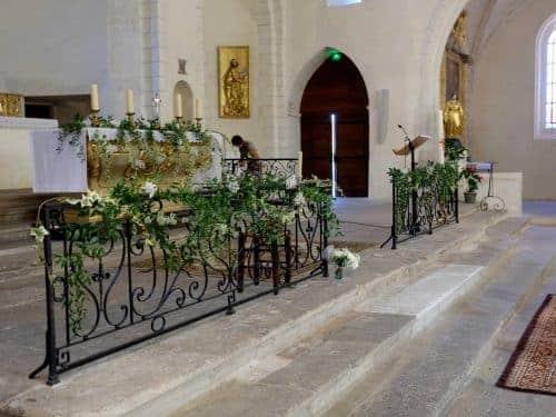 mariage decoration fleurs 3 500x375 - Un mariage dans le vaucluse