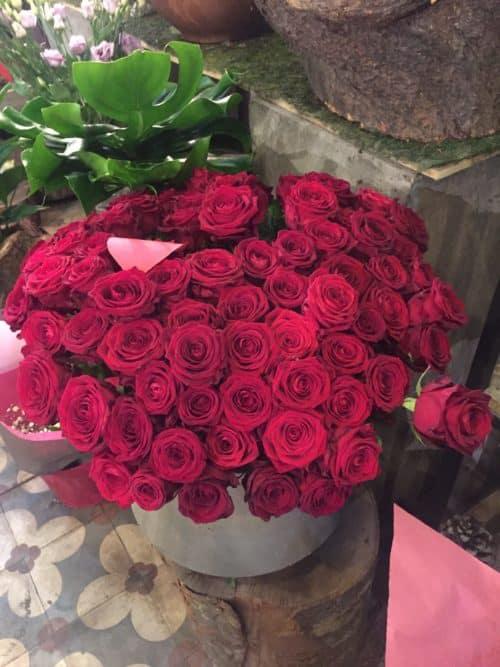 IMG 1367 e1526297586217 - Fleurs et bouquet pour la Saint Valentin