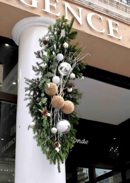 decoration vitrine noel agence de voyages 4 e1526296796438 - Les premières réalisations des devantures de magasin pour Noël...