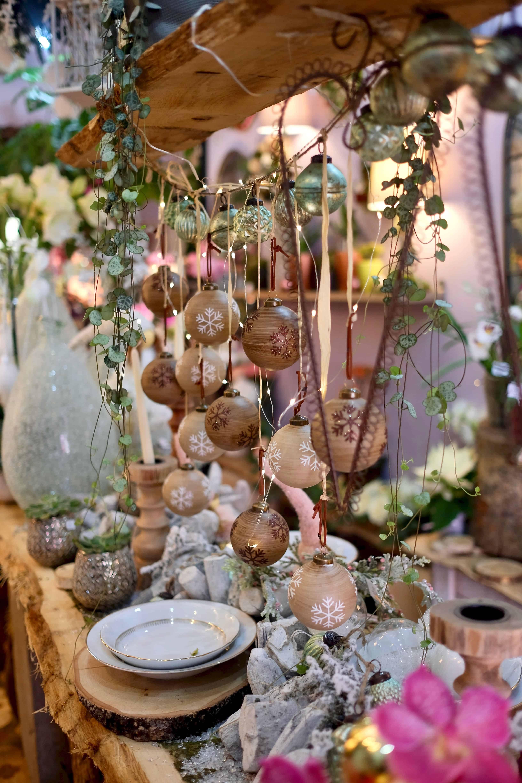 fleuriste marseille noel 2019 fleurs - Décoration de Noël