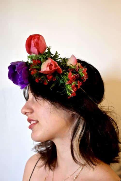 couronne fleurs mariage 10 500x750 - Couronnes de fleurs pour votre mariage