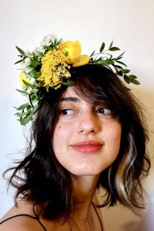 couronne fleurs mariage 3 500x750 - Couronnes de fleurs pour votre mariage