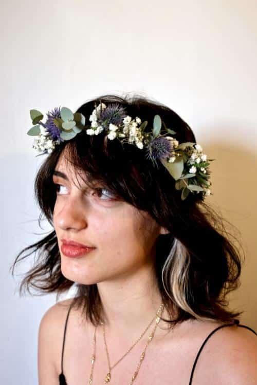 couronne fleurs mariage 4 500x750 - Couronnes de fleurs pour votre mariage