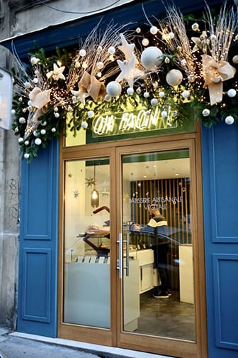 decoration vitrine marseille - Fleuriste Marseille